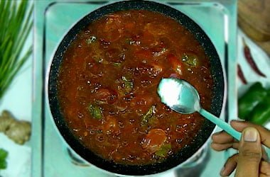 add salt in chilli gravy
