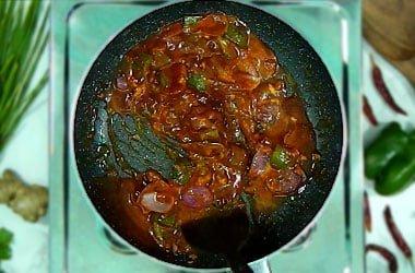 stir gently cornflour water mixture