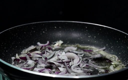 saute-chopped-onion-in-butter