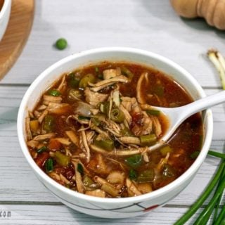 hot and sour soup recipe|how to make chicken hot n sour soup