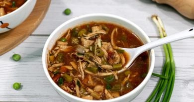 Hot-and-sour-soup-in-white-bowl