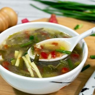 Healthy Vegetable Soup Recipe|How to make quick veg soup at home