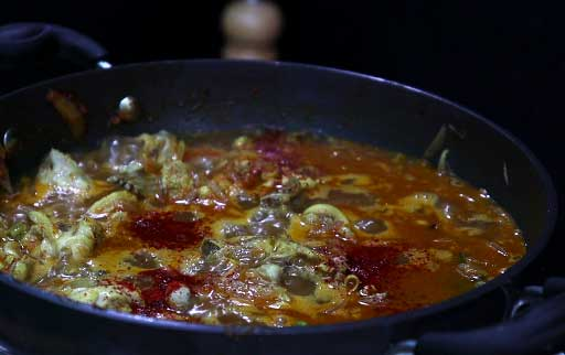 mix-kashmiri-red-chilli-powder-with-curry