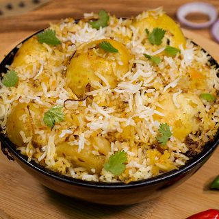 Egg Biryani Recipe|how to make egg biryani in cooker & dum style
