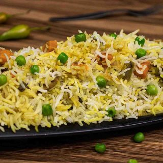 Veg Biryani Recipe|How to make vegetable biryani in cooker & dum style