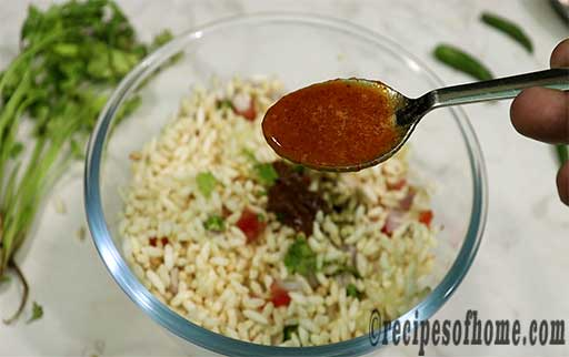 a tablespoon of red chutney