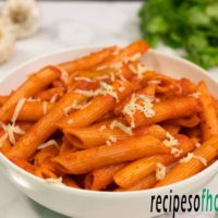 Red sauce pasta recipe | Pasta in red sauce | How to make red sauce pasta