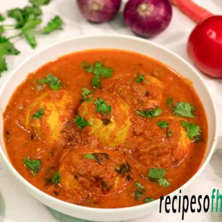Egg curry recipe (Anda Curry) | how to make egg curry masala
