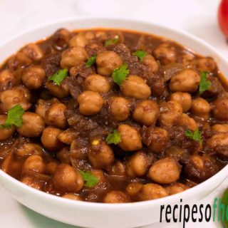 Chole recipe | how to make punjabi chole recipe at home
