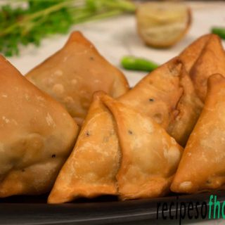 samosa recipe (aloo samosa) | how to make samosa at home