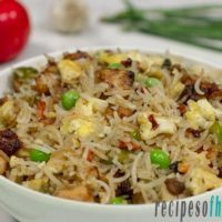 Chicken fried rice recipe | How to make chicken fried rice