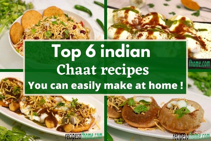 chaat recipes , homemade chaat recipes ,indian chaat recipes , easy chaat recipes
