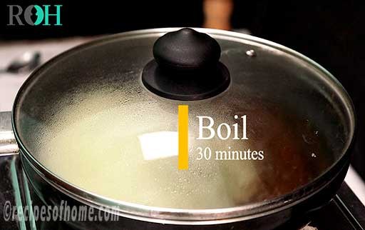 cover and boil jeera water