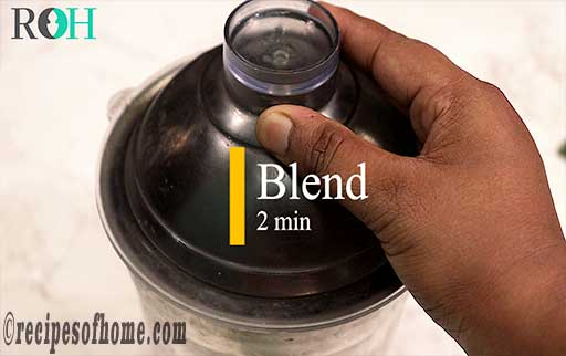 cool then blend jeera water for 2 min