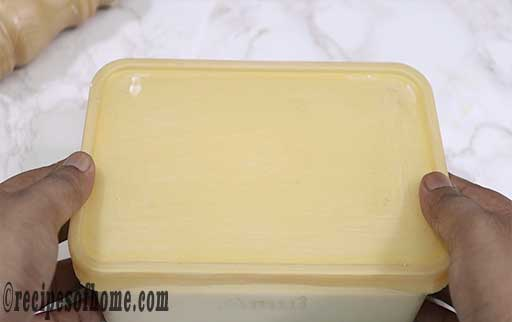 seal the container and place in refregerator