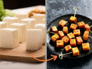 how to keep paneer soft after frying