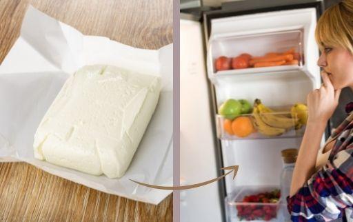 paneer in freezer